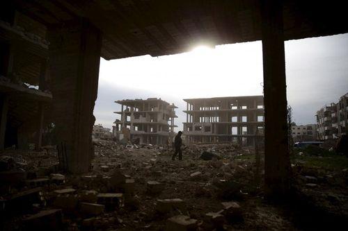 Israel tấn công cơ sở quân sự ngay sát thủ đô Syria - Ảnh 1