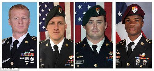 IS bất ngờ công bố video sát hại 4 binh sĩ Mỹ - Ảnh 1