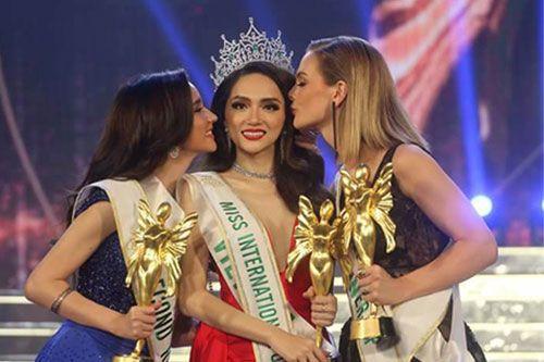 Hương Giang xuất sắc đăng quang Hoa hậu Chuyển giới Quốc tế 2018 - Ảnh 1