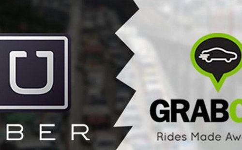 """Taxi truyền thống lo ngại tan rã vì """"chiêu trò"""" của Uber, Grab - Ảnh 1"""