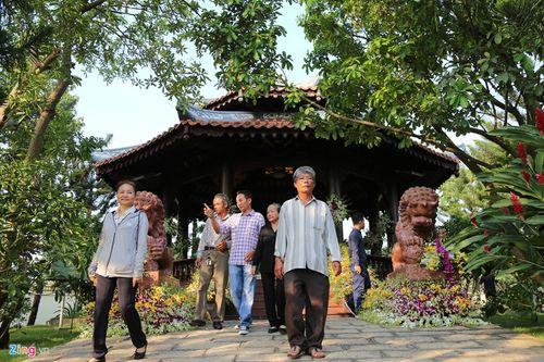 Nơi yên nghỉ bên cạnh vợ của nguyên Thủ tướng Phan Văn Khải tại tư gia - Ảnh 7