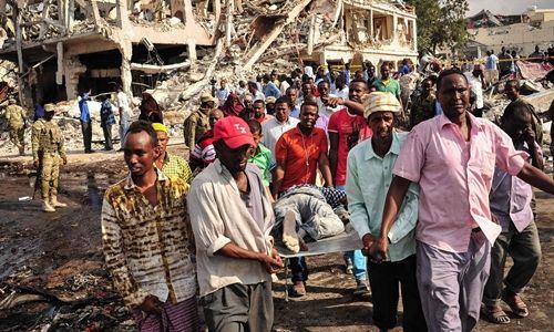 Somalia: Khách sạn bị đánh bom 36 người thương vong - Ảnh 1