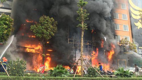 Sáng nay xét xử vụ cháy quán Karaoke khiến 13 người tử vong trên đường Trần Thái Tông - Ảnh 1