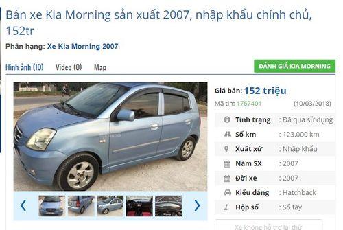 Ô tô cũ được rao bán rẻ bất ngờ, vỏn vẹn chỉ 115 triệu đồng - Ảnh 1