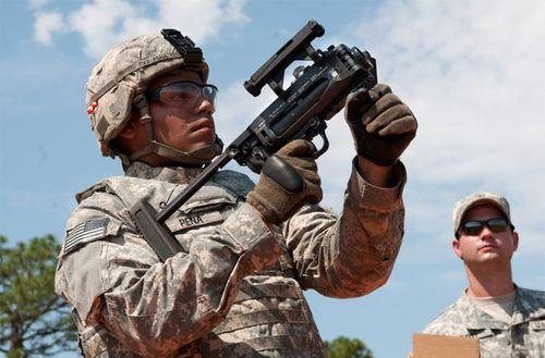 Mãn nhãn với một số loại súng trang bị cho lính lục quân Mỹ  - Ảnh 1
