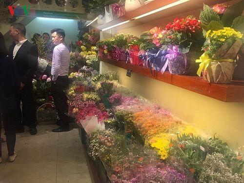 Hoa chậu làm quà tặng trong ngày 8/3 hút khách Hà thành - Ảnh 1