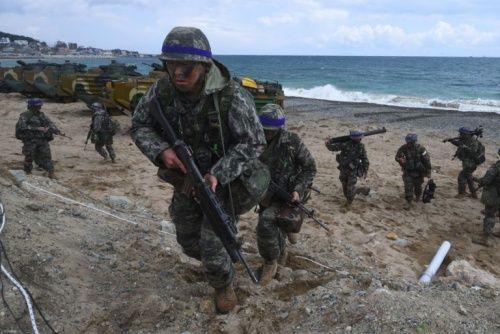 Liên quân Mỹ - Hàn bắt đầu cuộc tập trận quy mô lớn - Ảnh 1