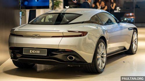 Xế sang Aston Martin DB11 V8 ra mắt, chào giá hơn 450.000 USD - Ảnh 1