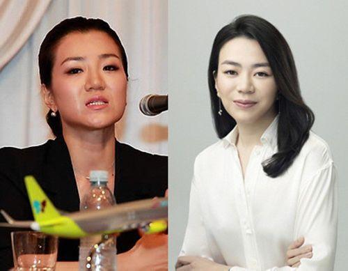 Con gái của nhà tài phiệt Hàn Quốc thẳng tay ném chai nước vào mặt nhân viên - Ảnh 1