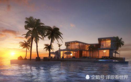 Dubai chuẩn bị xây siêu biệt thự nổi trên biển, mỗi căn trị giá khoảng 626 tỷ  - Ảnh 1