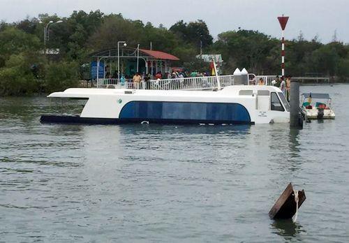 Tàu triệu đô chìm tại Cần Giờ: Sở GTVT TP.HCM lên tiếng - Ảnh 1