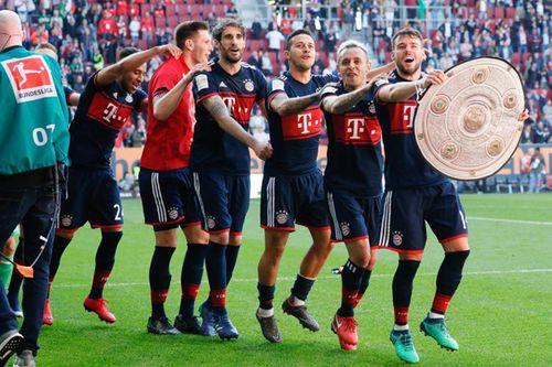 Lần thứ 6 liên tiếp, Bayern Munich vô địch Bundesliga  - Ảnh 1
