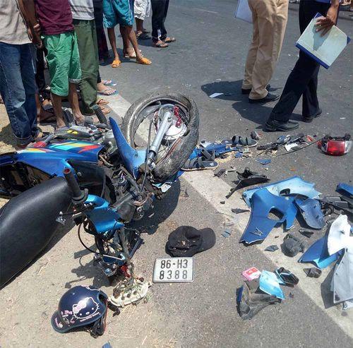 """Vụ """"lao xe máy vào nhau, 2 người chết"""": Công an chính thức thông tin - Ảnh 1"""