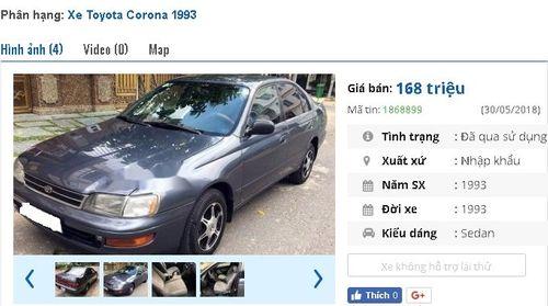 Giật mình với giá siêu rẻ của những chiếc Toyota cũ đang rao bán - Ảnh 2