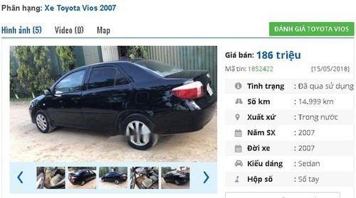 Giật mình với giá siêu rẻ của những chiếc Toyota cũ đang rao bán - Ảnh 6