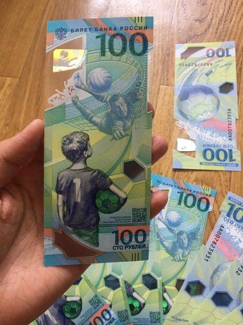 """Tiền lưu niệm World Cup 2018 về Việt Nam bị đẩy giá 300%, người mua vẫn ráo riết """"săn lùng"""" - Ảnh 2"""