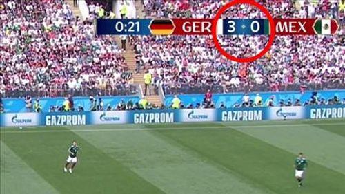 FIFA mắc sai lầm hài hước khi ghi sai tỷ số trận Đức thua Mexico - Ảnh 1