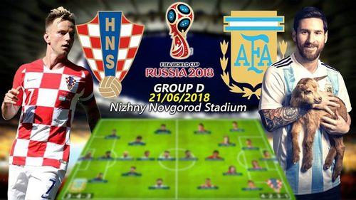 """""""Kèo thơm"""" World Cup 21/6: Argentina khó thắng Croatia  - Ảnh 1"""