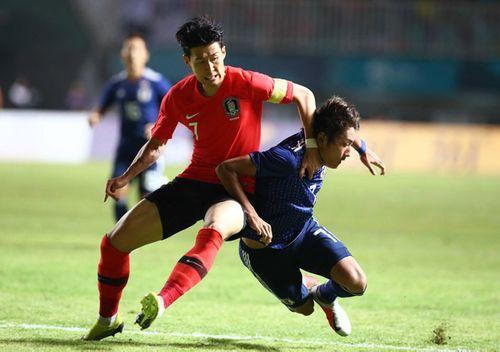 Sau 120 phút thi đấu, Olympic Hàn Quốc bảo vệ thành công tấm HCV Asiad - Ảnh 2