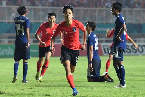 Sau 120 phút thi đấu, Olympic Hàn Quốc bảo vệ thành công tấm HCV Asiad - Ảnh 1