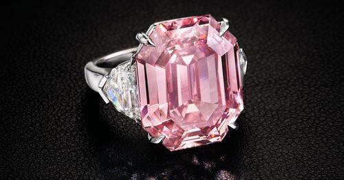 Đấu giá viên kim cương hồng 19 cara, dự kiến thu về gần 1,2 nghìn tỷ đồng - Ảnh 1