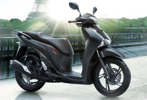 Bảng giá xe máy Honda mới nhất tháng 1/2019: SH 300i 2019 màu đen mờ giá đề xuất 270 triệu đồng - Ảnh 1