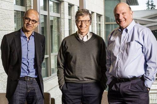 Chân dung CEO gốc Ấn đã đưa Microsoft trở lại ngôi dẫn đầu thế giới  - Ảnh 1