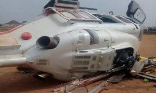 Máy bay bất ngờ lao xuống đất, Phó tổng thống Nigeria thoát chết  - Ảnh 2