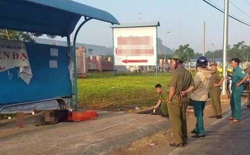 Phát hiện thi thể người đàn ông tại trạm chờ xe buýt, dân hoảng hốt báo công an - Ảnh 1