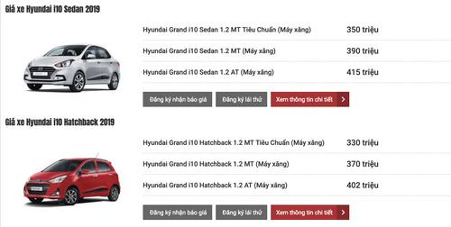 Bảng giá xe Hyundai mới nhất tháng 3/2019: SantaFe 2019 từ 995 triệu đến 1,245 tỷ đồng - Ảnh 2
