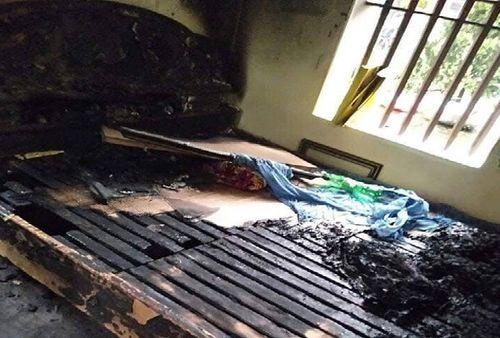 Vụ con gái phóng hỏa đốt nhà bố mẹ đẻ ở Hà Nam: Người mẹ đã tử vong - Ảnh 1