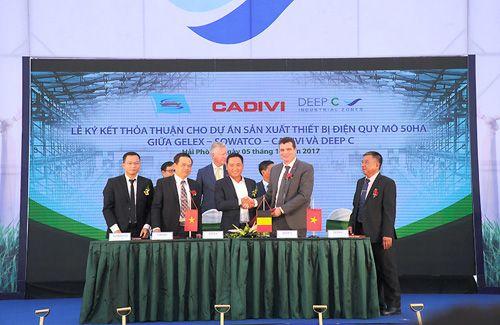 GELEX ký thỏa thuận với KCN Deep C III - Ảnh 2