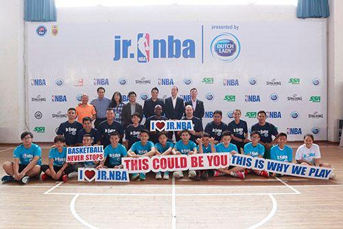 Nhãn hàng Cô Gái Hà Lan đồng hành cùng chương trình Jr.NBA Việt Nam lần thứ 4 - Ảnh 1