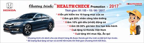 """""""Health Check Promotion"""" –  Chương trình khuyến mại dịch vụ đặc biệt tri ân khách hàng! - Ảnh 1"""