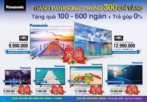 Đến Điện máy Xanh mua Panasonic trúng 300 chỉ vàng - Ảnh 2