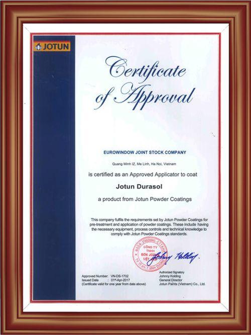 Dây chuyền Eurowindow đạt tiêu chuẩn sơn Jotun Durasol bảo hành 30 năm toàn cầu - Ảnh 2