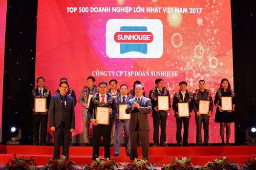 Tập đoàn SUNHOUSE tiếp tục nằm trong bảng xếp hạng Top 500 doanh nghiệp lớn nhất Việt Nam - Ảnh 1