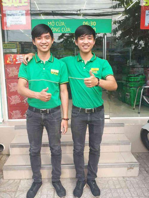 18 tuổi: cặp song sinh làm quản lý siêu thị bán hàng tiêu dùng có tiếng tại TP.HCM - Ảnh 1