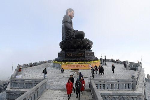 Tín đồ Phật tử có thêm một điểm đến tâm linh khi Tết đến xuân về - Ảnh 5