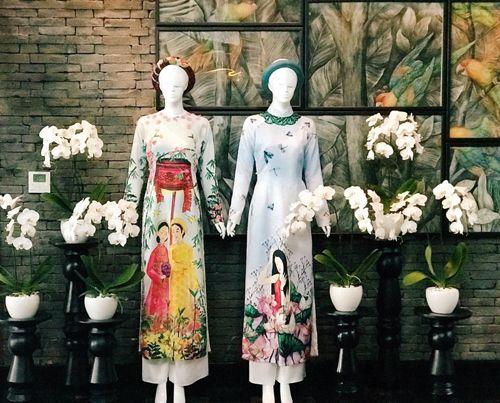 """Những mẫu áo dài đặc biệt tại triển lãm """"Áo Dài Việt Nam - Nét Đẹp Trường Tồn"""" - Ảnh 1"""