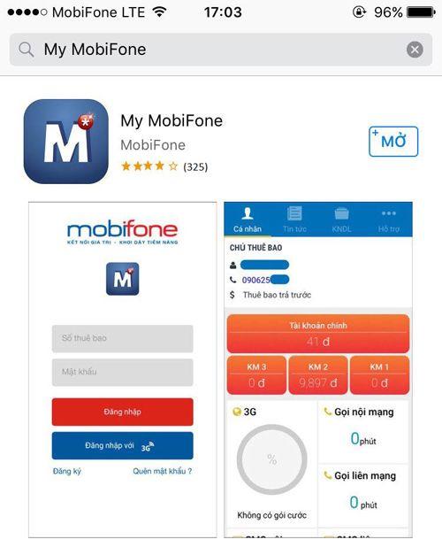 My MobiFone - ứng dụng thiết thực dành cho thuê bao MobiFone - Ảnh 1