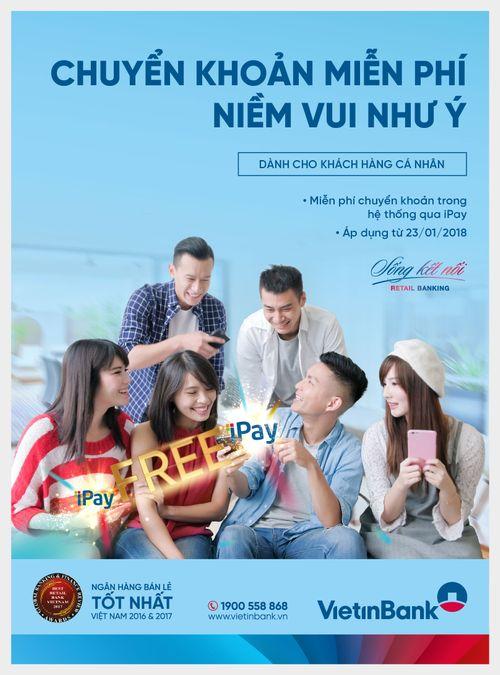 VietinBank miễn phí chuyển khoản trong hệ thống - Ảnh 1