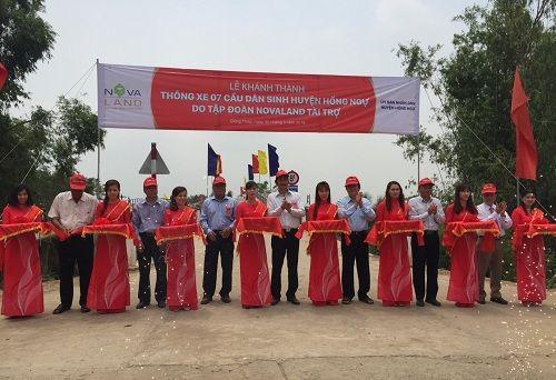 Khánh thành 7 cầu dân sinh mới tại huyện Hồng Ngự tỉnh Đồng Tháp - Ảnh 1