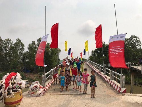 Khánh thành 7 cầu dân sinh mới tại huyện Hồng Ngự tỉnh Đồng Tháp - Ảnh 3