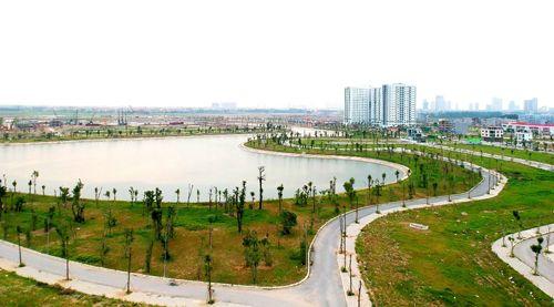 Hồ điều hòa – Lá phổi xanh trong lòng khu đô thị Thanh Hà Mường Thanh - Ảnh 1