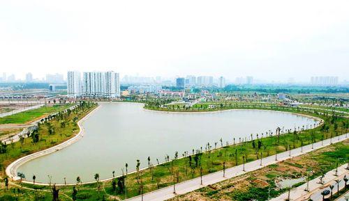 Hồ điều hòa – Lá phổi xanh trong lòng khu đô thị Thanh Hà Mường Thanh - Ảnh 6
