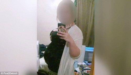 Sự thật câu chuyện cô con gái 16 tuổi mang bầu 10 tháng chưa đẻ - Ảnh 1