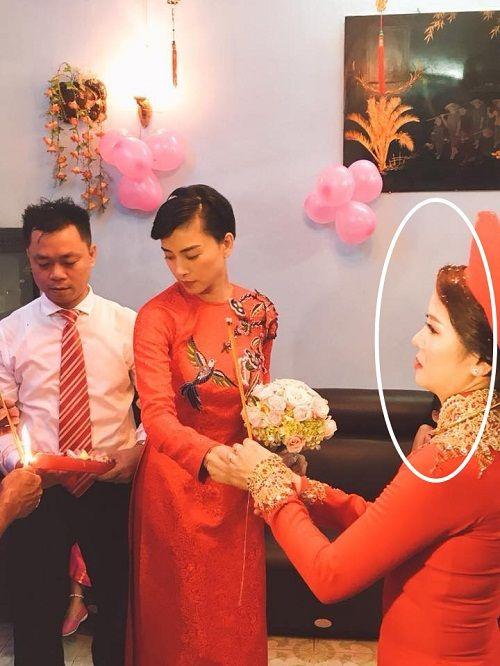 Dân mạng xôn xao trước hình ảnh Ngô Thanh Vân mặc áo dài trong lễ rước dâu - Ảnh 5