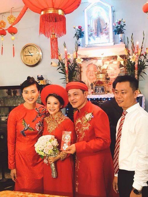 Dân mạng xôn xao trước hình ảnh Ngô Thanh Vân mặc áo dài trong lễ rước dâu - Ảnh 7
