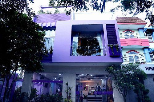 Nghệ sĩ hài Hồng Tơ và ngôi nhà màu tím đặc biệt trị giá gần triệu đô - Ảnh 2